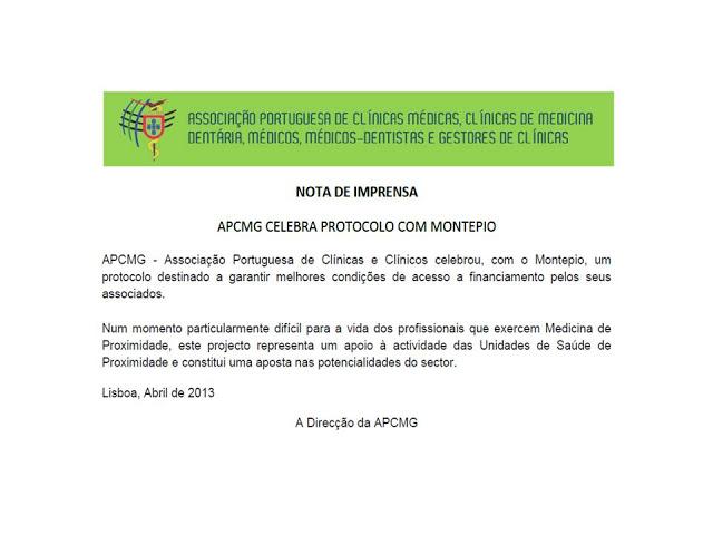 Protocolo APCMG Montepio